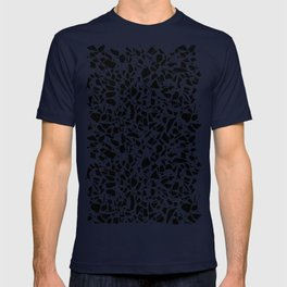 Terrazzo Spots Black on Blush Repeat T-shirt
