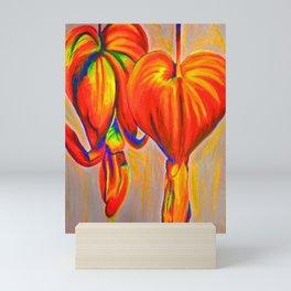 Lamprocapnos Mini Art Print