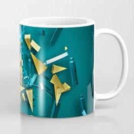 3D Bits Coffee Mug