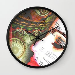 Juliette of the Jungle #20 Wall Clock