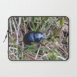 Black Beetle portrait Laptop Sleeve