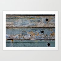 metal Art Prints featuring Metal by edlundart