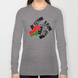 Obliterate Hate w/ Black Power Long Sleeve T-shirt
