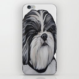 Herbie the Shih Tzu - White Background iPhone Skin