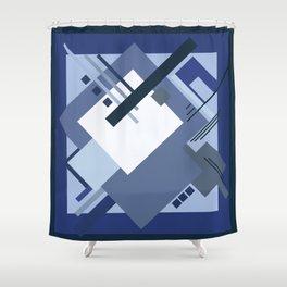 Geometric illustration 6 Shower Curtain