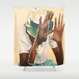 Stages of Life: Forgive Shower Curtain
