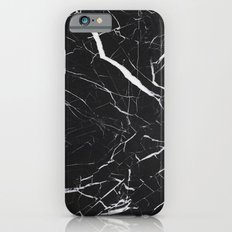 Black Marble  Slim Case iPhone 6