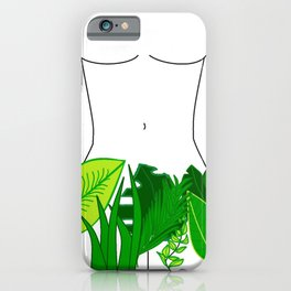 Naked Nature iPhone Case