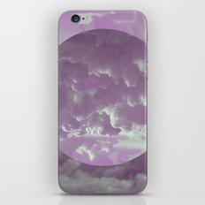 Purple Clouds iPhone & iPod Skin