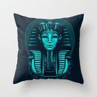 egypt Throw Pillows featuring Egypt by nicksimon