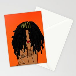 QUEEN THOUGHTS - LOCS Stationery Cards