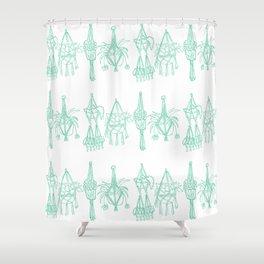 Macrame Shower Curtains