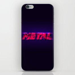 Metal iPhone Skin