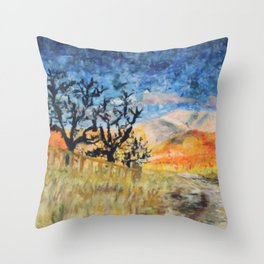 Boise Foothills no. 1 Throw Pillow