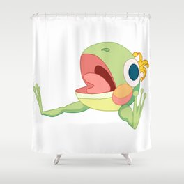 FROWG 5 Shower Curtain