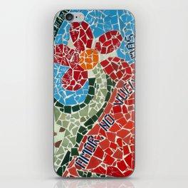 Muro de Amor iPhone Skin