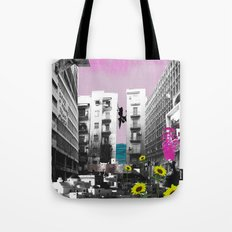 It's Hard To Go Down [When You're Up.] Tote Bag