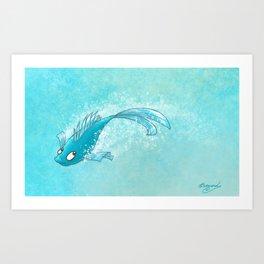 Dream Fish! Art Print