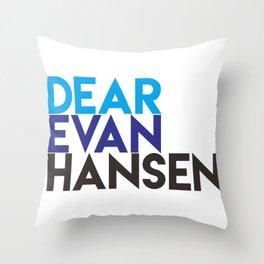 Dear Evan Hansen Throw Pillow
