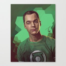 Sheldon Cooper Canvas Print