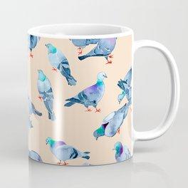 Flock of Pigeons Coffee Mug