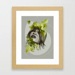 Eva by carographic, Carolyn Mielke Framed Art Print