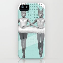 sqirrelsea dance iPhone Case