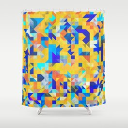 Folky Shower Curtain