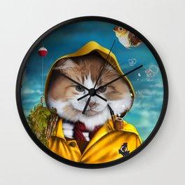 Le pêcheur/The fisherman Wall Clock