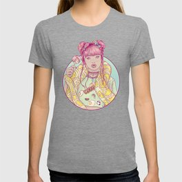 Candid Candy Lady T-shirt