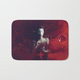 Red Communion Bath Mat