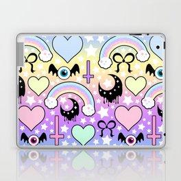 Pastel Goth Collage Laptop & iPad Skin