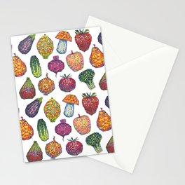 Vitamins - white Stationery Cards