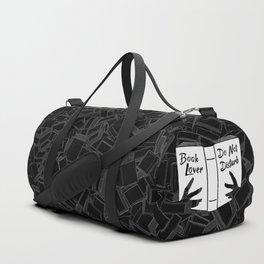 Book Lover, Do Not Disturb Duffle Bag