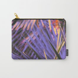 Palmetto Abstract Blue Carry-All Pouch