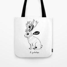 Le Jackalope Tote Bag