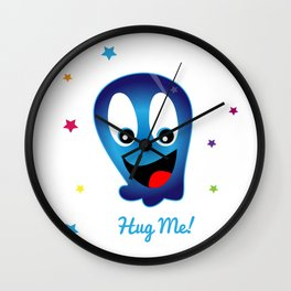 Cuteopus (This is For the Kids) Wall Clock