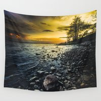 outdoor Wall Tapestries featuring Aureus by HappyMelvin