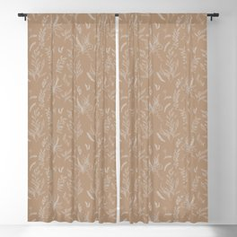 Nature Pattern Blackout Curtain