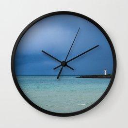 Iceland North Coast Wall Clock