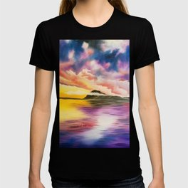 Drama Drama Drama, Cloudy Sky, Colorful Sunset, Beach Sunset T-shirt