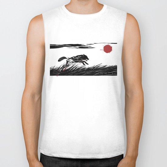 Mecha Wolf Biker Tank