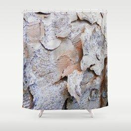 Tree Bark rustic decor Shower Curtain