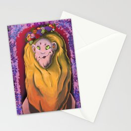 Monty's Crown Stationery Cards