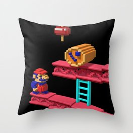 Inside Donkey Kong Throw Pillow