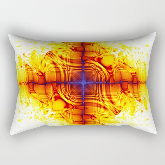 multiple mirrors Rectangular Pillow