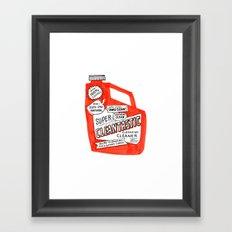 Cleantastic Framed Art Print