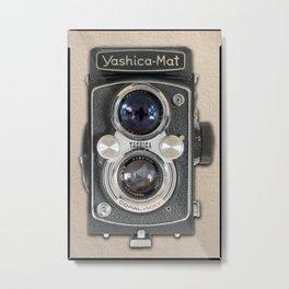 Yashica-Mat twin lens reflex Metal Print