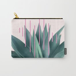 Agave geometrics II - pink Carry-All Pouch