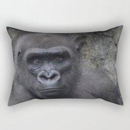 """You Talking To Me?"" Rectangular Pillow"